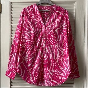 EUC Vintage Lilly Pulitzer Blouse Size Small